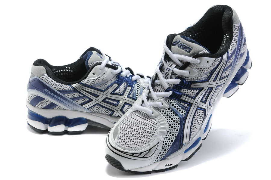 Asics GEL-KAYANO 17 Running Shoes-White/Blue