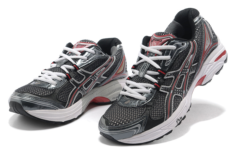 Men's Asics GT 2130 Dark Slate Gray Maroon White