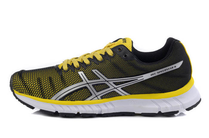 Asics Men's Gel Speedstar 6 Black Goldenrod Light Grey