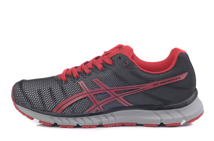Asics Men's Gel Speedstar 6 Black Brown Dark Gray