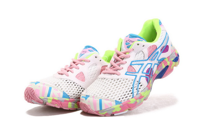 Asics Women's Gel Noosa Tri 7 Violet Light Sky Blue White