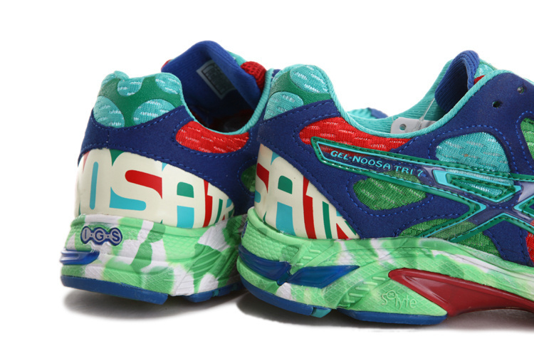Men's Asics Gel Noosa Tri 7 Turquoise Steel Blue Green