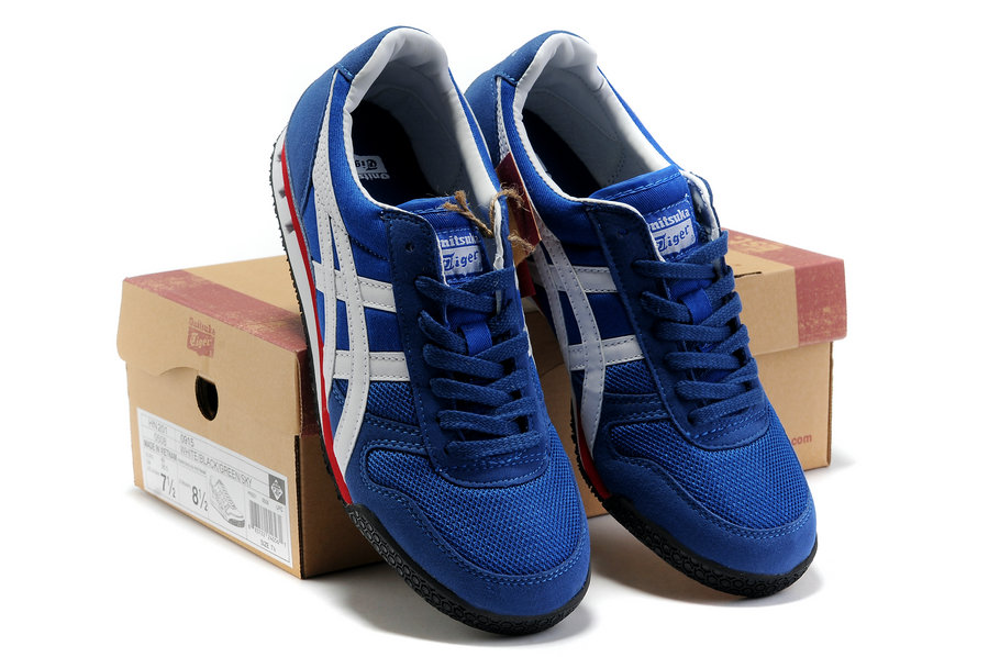 Onitsuka Tiger Ultimate 81 Blue/White/Red