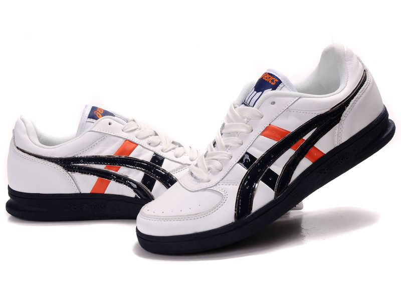 Asics Top Seven Shoes White/Black/Orange