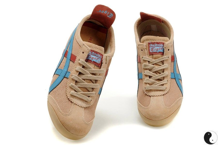 Onitsuka Tiger Mexico 66 Beige/Blue/Red Women/Men