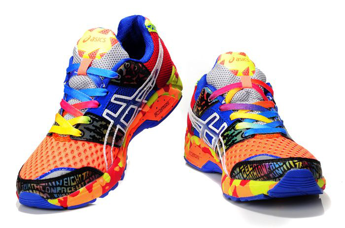 Men's Asics Gel Noosa Tri 8 Cornflower Blue Light Salmon Thistle