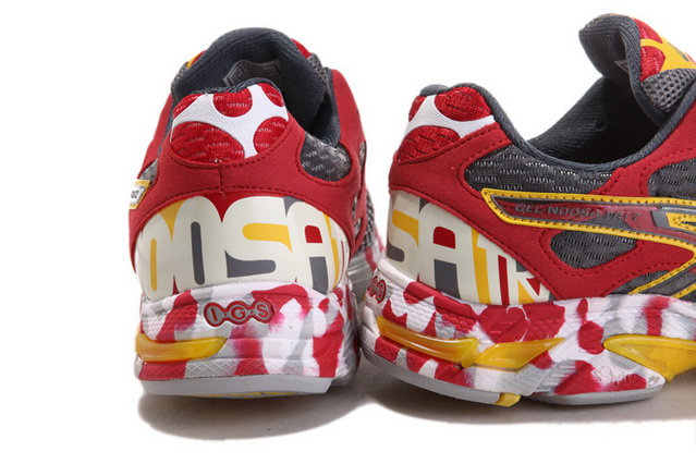 Asics Men's Gel Noosa Tri 7 Red Dim Gray Gold