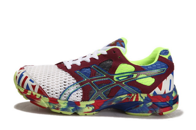 Asics Men's Gel Noosa Tri 7 Sienna White Green Yellow