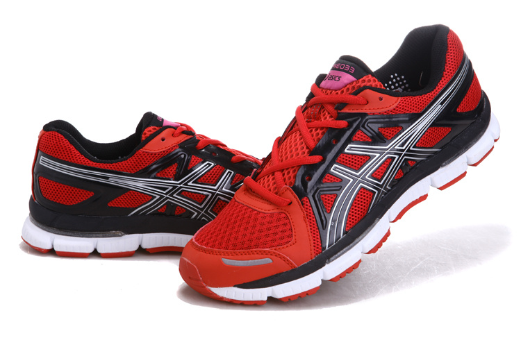 Women's Asics Gel Neo 33 Fire Brick Black Snow