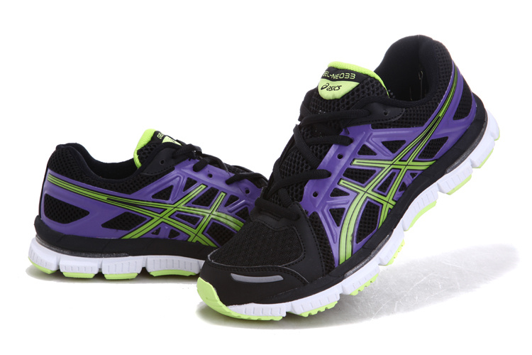 Men's Asics Gel Neo 33 Dark Violet Lawn Green Black
