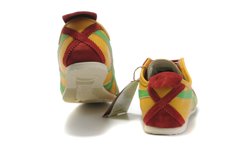 Onitsuka Tiger Mexico 66 Deluxe Yellow/Red/Green