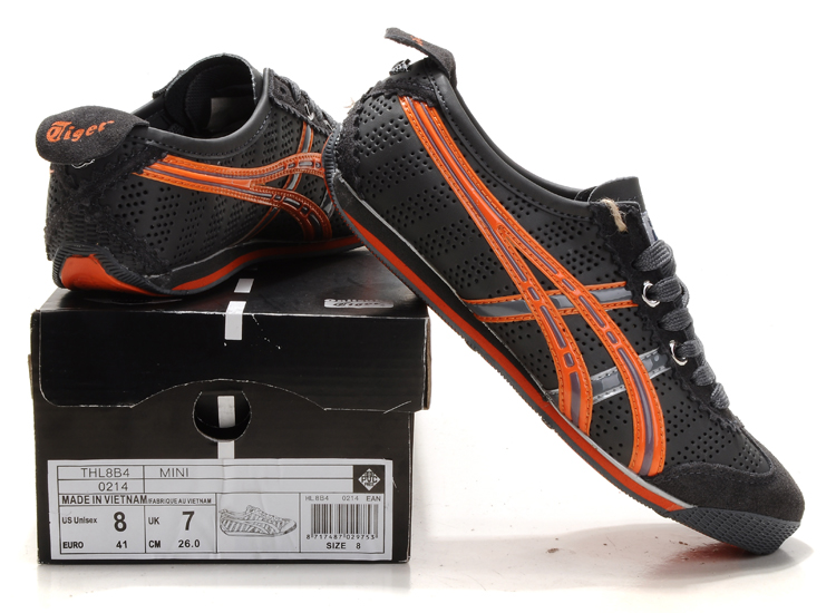 Onitsuka Tiger Men's Mini Cooper Black/Orange
