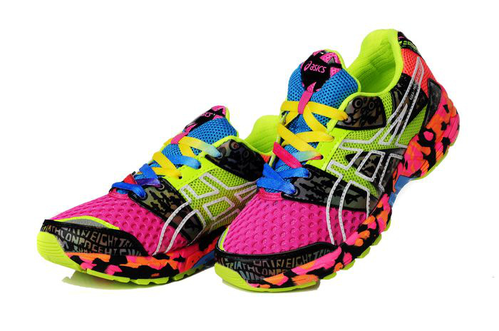 Women's Asics Gel Noosa Tri 8 Orchid Green Yellow Pale Goldenrod