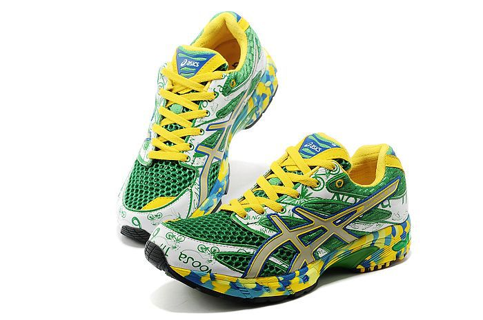 Men's Asics Gel Noosa Tri 6 LightGreen Dark Sea Green Yellow