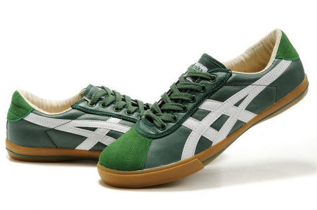 Asics Men's Onitsuka Tiger Rotation 77 OliveDrad Dark Sea Green White