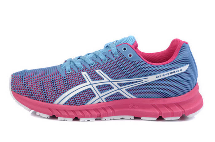 Asics Men's Gel Speedstar 6 DarkTurquoise Hot Pink Floral White