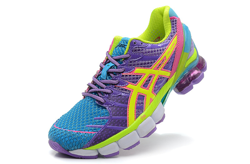 Women's Asics Gel Kinsei 4 Cornflower Blue Violet Dark Orchid