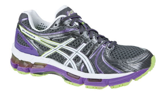 Asics Women's Gel Kayano 18 Light Slate Gray SlateBlue Ghost White