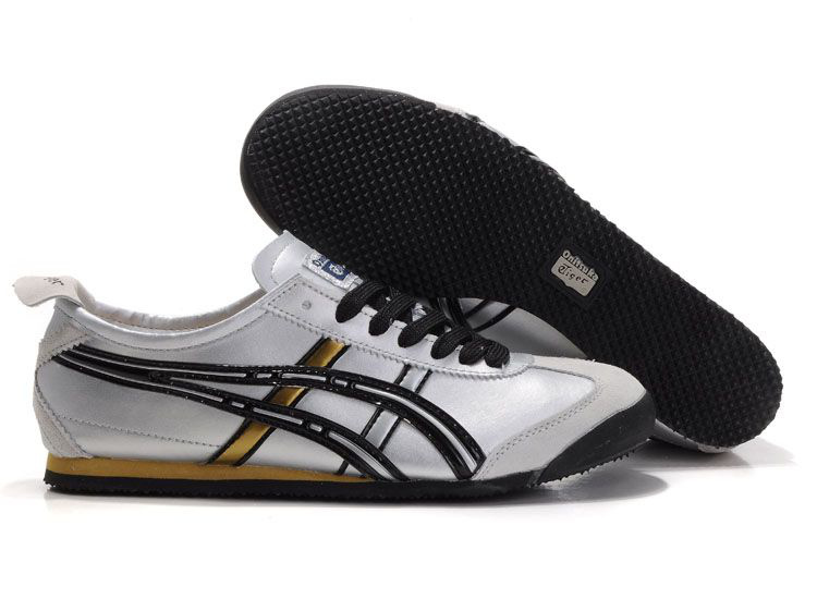 Onitsuka Tiger Mexico 66 Silver/Black/Gold