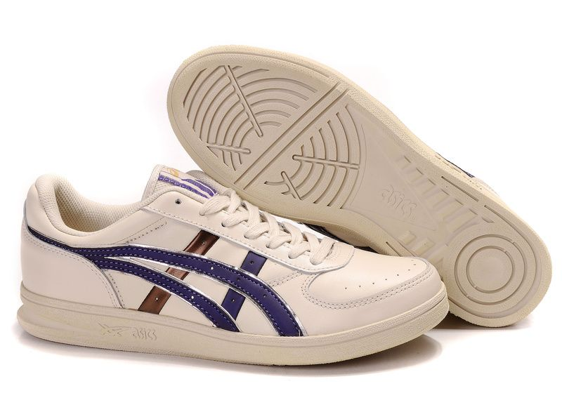 Asics Top Seven Shoes Beige/Blue/Gold