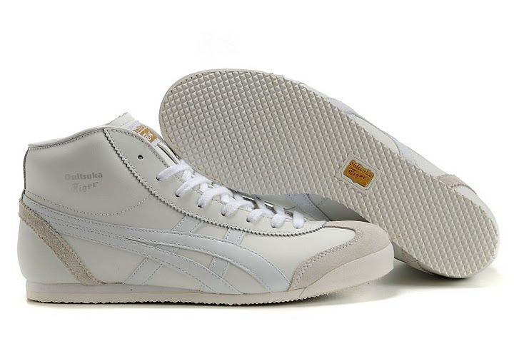 Onitsuka Tiger Mexico Mid Runner White/Beige Women/Men