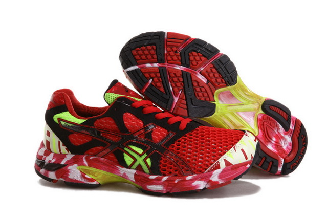 Asics Men's Gel Noosa Tri 7 Red Black Yellow