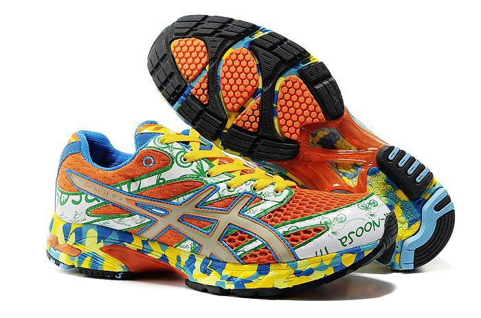 Men's Asics Gel Noosa Tri 6 Coral RosyBrown Gold