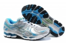 Asics GEL-KAYANO 17 Running Shoes-Black/Blue/Gray