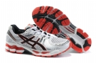 Asics GEL-KAYANO 17 Running Shoes-White/Black/Red