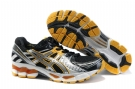 Asics GEL-KAYANO 17 Running Shoes-Black/Yellow