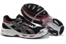 Asics Men's GEL-Virage 4 Running Shoes-Black/Red
