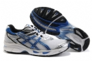 Asics Men's GEL-Virage 4 Running Shoes-White/Blue