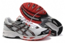 Asics Men's GEL-Virage 4 Running Shoes-White/Red