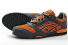Asics Stormer Trainer Shoes Orange /Grey