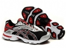 Asics Gel-Stratus 2.1 Silver/Red/Black