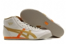 Onitsuka Tiger Mexico Mid Runner White/Gold/Orange Women/Men