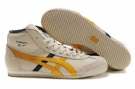 Women's Onitsuka Tiger Mexico Mid Runner Beige/Yellow/Black