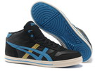 Men's Asics Aaron MT Black Goldenrod Royal Blue