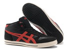 Men's Asics Aaron MT Black Fire Brick