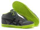 Men's Asics Aaron MT Dim Gray Black Green Yellow