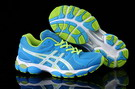 Asics Women's Gel Nimbus 14 Turquoise Green Yellow Snow
