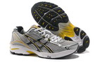 Men's Asics GT 2130 Silver Gold Black