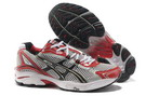 Men's Asics GT 2130 Light Grey Fire Brick Black