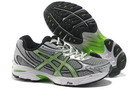 Men's Asics GT 2150 Gray Silver Yellow Green