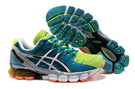 Men's Asics Gel Kinsei 4 Teal Light Steel Blue Yellow Green