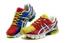 Men's Asics Gel Kinsei 4 Maroon Dark Blue Yellow