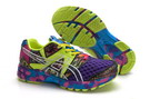 Women's Asics Gel Noosa Tri 8 Purple Green Yellow DarkKhaki