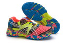 Women's Asics Gel Noosa Tri 8 LightCoral DarkTurquoise Yellow