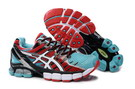 Men's Asics Gel Kinsei 4 Aquamarine Fire Brick Snow
