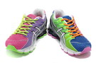 Women's Asics Gel Kinsei 4 Medium Purple Magenta Lime